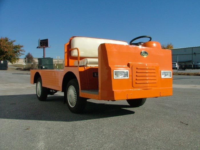 Star Flat Bed Utility Vehicle